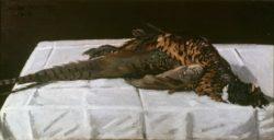 """Claude Monet """"Fasan"""" 79 x 41 cm"""