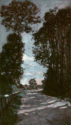 """Claude Monet """"Die Straße zum Gehöft St-Simeon"""" 55 x 80 cm"""