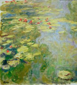 "Claude Monet ""Seerosenteich"" 120 x 130 cm"