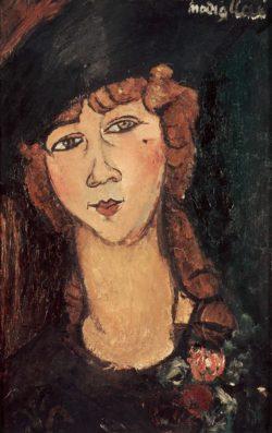 "Amedeo Modigliani ""Lolotte"" 55 x 36""cm"