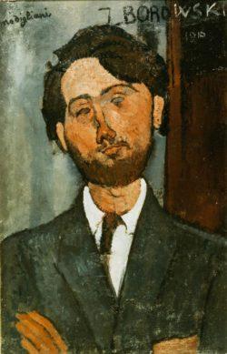 """Amedeo Modigliani """"Portrait von Leopold Zborowski"""" 65 x 42""""cm"""