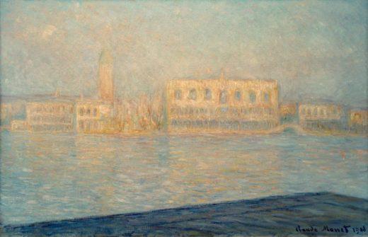 """Claude Monet """"Der Dogenpalast"""" 100 x 65 cm 1"""