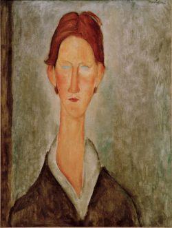 "Amedeo Modigliani ""Der Student"" 61 x 46""cm"