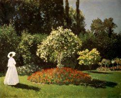 """Claude Monet """"Jeanne-Marguerite Lecadre im Garten"""" 99 x 80 cm"""