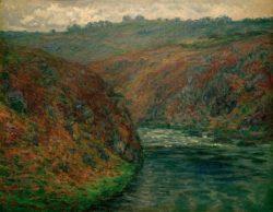 """Claude Monet """"Blick auf die Creuse"""" 92 x 73 cm"""