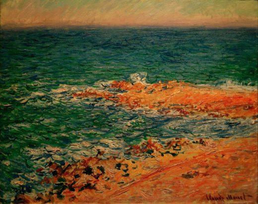 """Claude Monet """"Blick auf das Meer"""" 82 x 62 cm 1"""