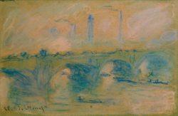 """Claude Monet """"Waterloo Bridge"""" 48 x 31 cm"""