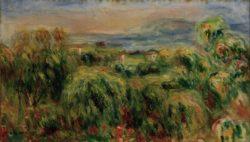 "Auguste Renoir ""Cagnes"" 44 x 28 cm"