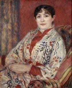 """Auguste Renoir """"Bildnis Madame Leriaux"""" 64 x 53 cm"""