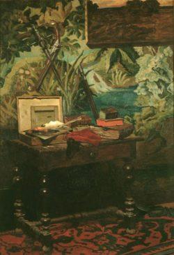 """Claude Monet """"Atelierinterieur"""" 127 x 182 cm"""