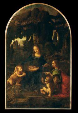"Leonardo da Vinci ""Felsengrottenmadonna"" 122 x 199 cm"
