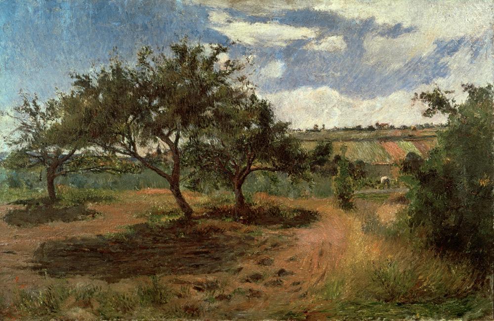 "Paul Gauguin ""Blühende Apfelbäume II""  100 x 65 cm"