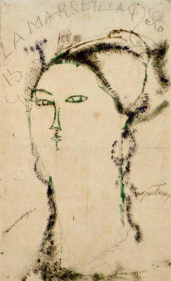 "Amedeo Modigliani ""Madame Othon Friesz (La Marseillaise)"" 44 x 27""cm"