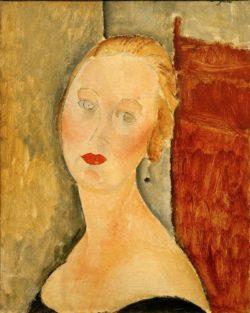 "Amedeo Modigliani ""Madame Survage"" 54 x 44""cm"