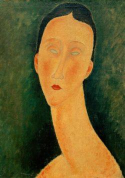 """Amedeo Modigliani """"Porträt einer Frau (Lunia)"""" 46 x 36""""cm"""