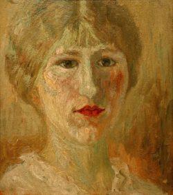 """Amedeo Modigliani """"Porträt einer Frau"""" 25 x 22""""cm"""