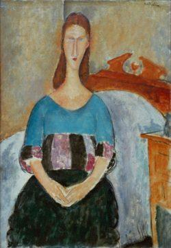 """Amedeo Modigliani """"Jeanne Hébuterne"""" 54 x 38""""cm"""