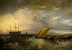"""William Turner """"Blick von Nore auf Sheerness"""" 105 x 152 cm"""