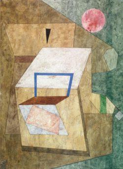 "Paul Klee ""Geöffnet"" 55 x 41 cm"