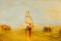 "William Turner ""Die Sonne von Venedig"" 62 x 92 cm"