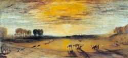 "William Turner ""Petworth Park"" 65 x 146 cm"