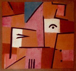 "Paul Klee ""Blick aus Rot"" 50 x 47 cm"
