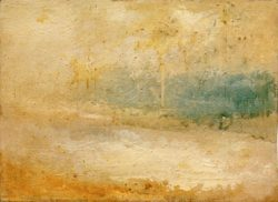 "William Turner ""An einen Strand schlagende Wellen"" 25 x 34 cm"