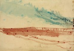 "William Turner ""Sandbank"" 19 x 27 cm"
