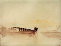 """William Turner """"Ambleteuse"""" 23 x 31 cm"""