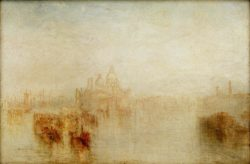 "William Turner ""Venedig, S.Maria della Salute"" 61 x 92 cm"