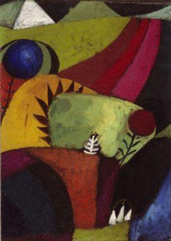 """Paul Klee """"Drei weisse Glockenblumen"""" 19 x 27 cm"""