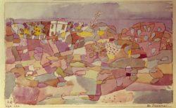 """Paul Klee """"Bei Taormina"""" 24 x 15 cm"""