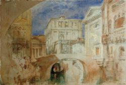 """William Turner """"Venedig S.Luca"""" 19 x 28 cm"""