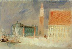 "William Turner ""Venedig, Piazzetta di San Marco"" 19 x 28 cm"