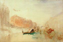 """William Turner """"Venedig, Canal Grande"""" 22 x 32 cm"""