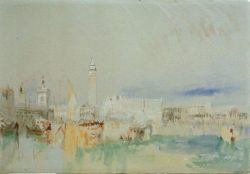 "William Turner ""Venedig, Bacino S. Marco"" 19 x 28 cm"