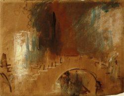 "William Turner ""Venedig, Brücke"" 25 x 29 cm"