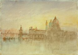 "William Turner ""Venedig, S. Maria della Salute"" 19 x 28 cm"