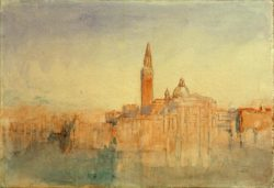 "William Turner ""Venedig, S. Giorgio Maggiore"" 19 x 28 cm"