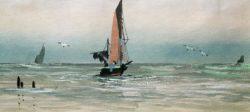 """William Turner """"Seascape"""" 11 x 24 cm"""