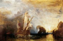 "William Turner ""Odysseus verspottet Polyphem"" 133 x 203 cm"