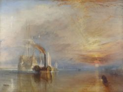 "William Turner ""Die Fighting Temeraire"" 91 x 122 cm"