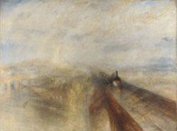 """William Turner """"Regen, Dampf und Geschwind"""" 91 x 122 cm"""