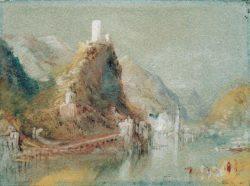"""William Turner """"Cochem aus südlicher Richtung"""" 14 x 19 cm"""