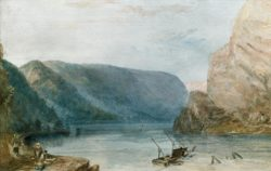 "William Turner ""Die Lorelei"" 19 x 30 cm"