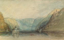 "William Turner ""Die Pfalz bei Kaub"" 19 x 31 cm"