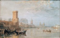 "William Turner ""Köln"" 20 x 31 cm"