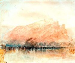 "William Turner ""Ehrenbreitenstein"" 25 x 31 cm"