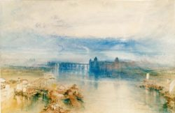 "William Turner ""Konstanz"" 31 x 46 cm"