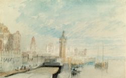 "William Turner ""Mainz"" 19 x 31 cm"